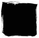 Brush strokes. Black brush strokes backgrounds isolated on white Royalty Free Stock Images