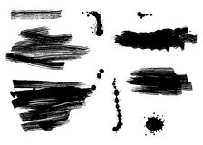 Brush strokes Stock Images