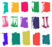 Brush strokes color Royalty Free Stock Photo