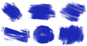 Brush strokes Royalty Free Stock Images