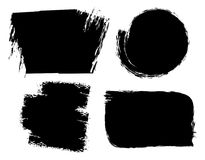 Brush strokes grunge backgrounds. vector  Royalty Free Stock Photography