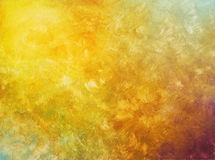 Brush strokes on hand painted background Royalty Free Stock Images