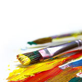 Brush strokes Royalty Free Stock Image