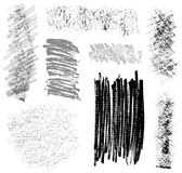 Brush strokes set 2 Royalty Free Stock Images