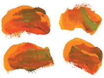 Brush strokes Stock Photos