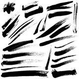 Brush Strokes. Vector set 03 royalty free illustration