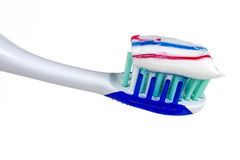 Brush teeth Royalty Free Stock Image