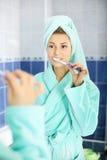 Brush teeth Royalty Free Stock Photo