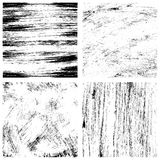 Brush texture set royalty free illustration