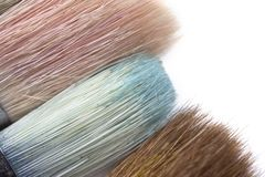 Free Brush Tips With Color Residue Stock Photo - 11700870