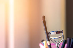 Brush and tools of makeup Royalty Free Stock Photo