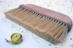 Brush for wallpapering. Stock Photography
