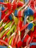 Brush for washing dishes Royalty Free Stock Photo