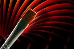 Brush Wave Royalty Free Stock Images