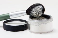 Brush With Powder Stock Photos