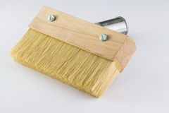 Brush for wood, the isolated image Royalty Free Stock Images