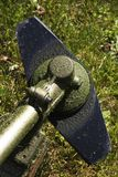 Brushcutter Blatt Stockfotos