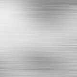 Brushed aluminium metal plate Royalty Free Stock Image