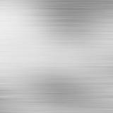 Brushed aluminium metal plate vector illustration