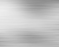 Brushed aluminium metal plate Stock Photo