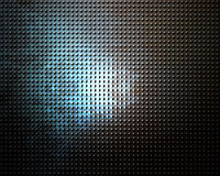 Brushed aluminium metal plate Stock Photography