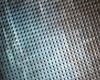 Brushed aluminium metal plate Royalty Free Stock Photos