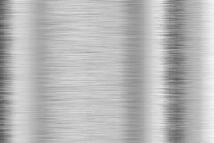 Brushed aluminum Stock Image