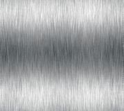 Brushed aluminum shiny metal Stock Photos
