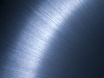 Brushed aluminum surface Stock Photography