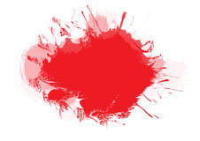 Brushed Blood stains - vector Royalty Free Stock Photos