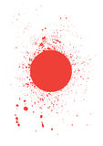 Brushed Blood stains - vector Stock Images