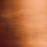 Brushed bronze plate Royalty Free Stock Photos