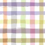 Brushed check pattern Stock Image