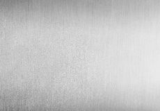 Brushed clean metal background. Stainless shiny blank steel texture royalty free stock photography