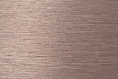 Brushed copper Royalty Free Stock Photo