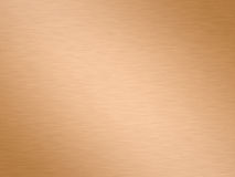 Brushed copper Stock Photography