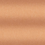 Brushed Copper Seamless Background Royalty Free Stock Photography