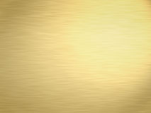 Brushed gold. A large sheet of rendered lightly brushed shiny gold Royalty Free Stock Image