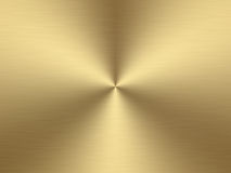 Brushed gold Stock Image