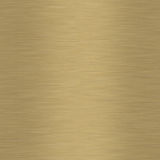 Brushed Gold. Background which will tile seamlessly Stock Photo