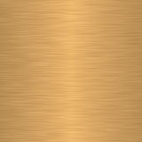 Brushed gold or brass as background Royalty Free Stock Photos