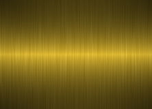 Brushed gold metallic background Stock Photos