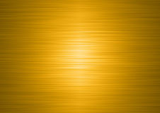 Brushed gold plate Stock Image