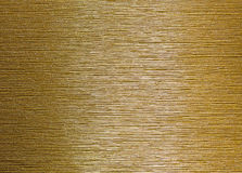 Brushed gold Stock Images