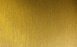 Brushed gold Stock Photography