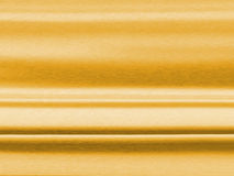 Brushed Gold Texture. A horizontal brushed gold texture Stock Photo