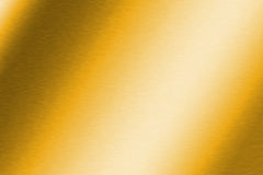 Brushed Gold Texture. Brushed gold gradient metal background royalty free illustration