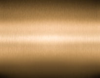 Brushed high quality copper or bronze  texture Royalty Free Stock Image