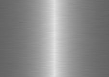 Brushed metal. Computer generated linear brushed metal patern Stock Photography