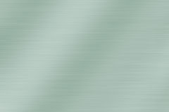 Brushed metal. A Brushed metal texture background - green look Royalty Free Stock Photography